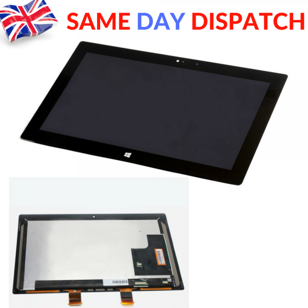 Image Microsoft Surface Pro 2 1514 LCD Touch Screen Digitizer Assembly LTL106HL01-001